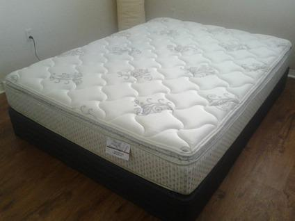 queen size mattress and box spring. Brand NEW Queen Size Mattress + Box Spring And
