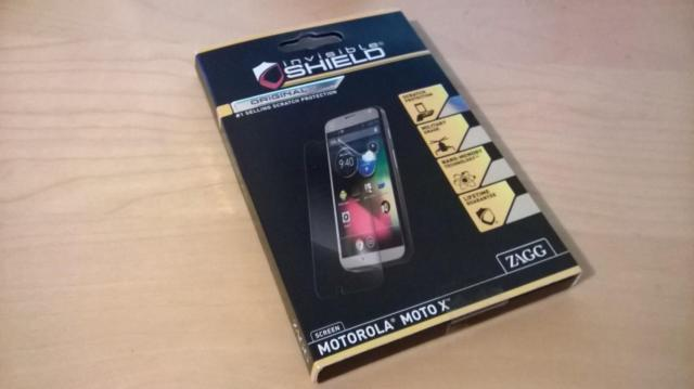 Brand New Sealed Zagg Invisible Shield for Motorola