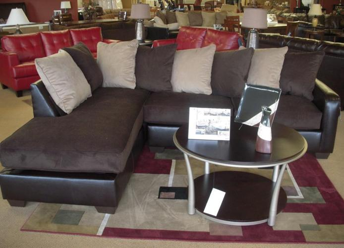 BRAND NEW SECTIONAL SOFA WITH CHAISE by ASHLEY Denver
