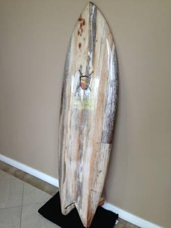 Brand new solid wood agave retro fish surfboard for for Fish surfboard for sale