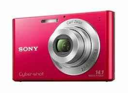 Brand New Sony DSC-W330 14.1MP Digital Camera RED - $110 East Cleveland