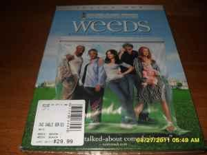 BRAND NEW Weeds Season 1 DVD SET – UNOPENED! -
