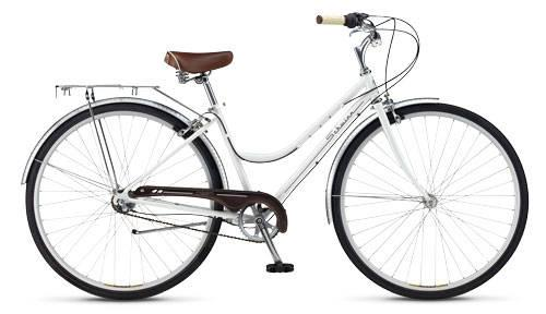 BRAND NEW Womens Schwinn Classic Downtown Cream 3-speed bike