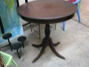 Brandt Furn Of Character Oval Mahogany Side Table