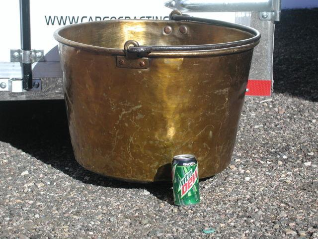 Brass Large Fireplace Bucket
