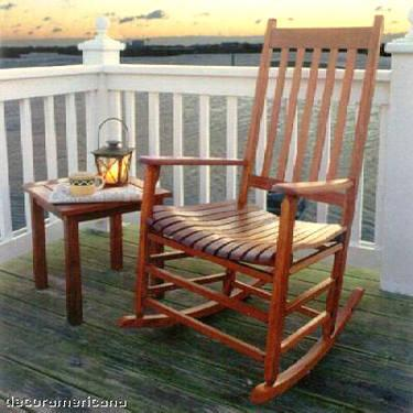 brazilian cherry outdoor rocking chair for sale in balmville new