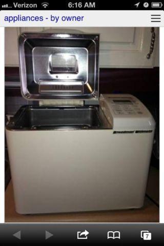 Breadman Ultimate Bread Machine