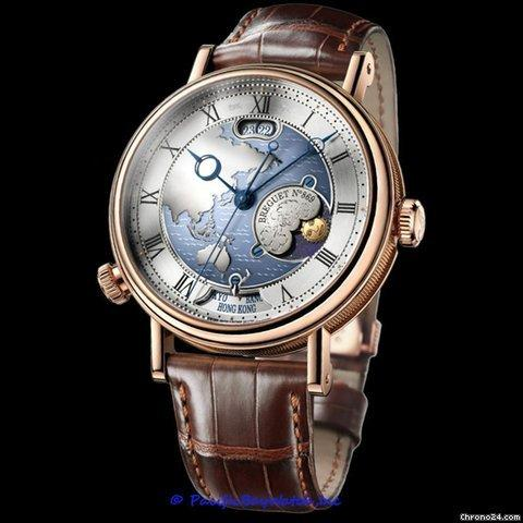 Breguet Classique 7147 & Classique Hora Mundi 5727 Watches ...