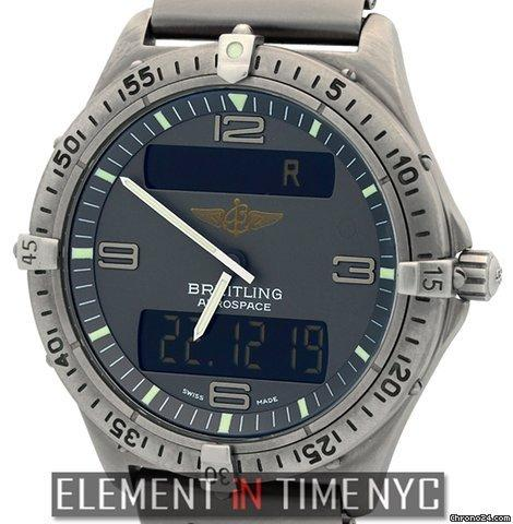 Breitling Aerospace Professional Multifunction Titanium Grey Dial Ref. E56062 Price On Request