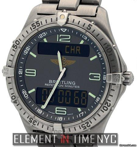 Breitling Aerospace Professional Multifunction Titanium Grey Dial Ref. E65062 Price On Request