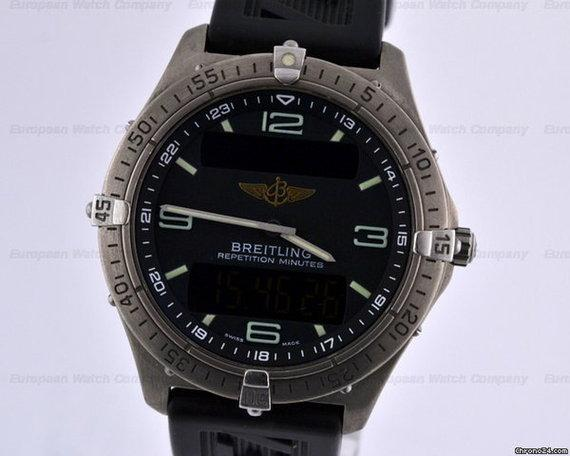 Breitling Aerospace Professional Titanium  Rubber 41MM
