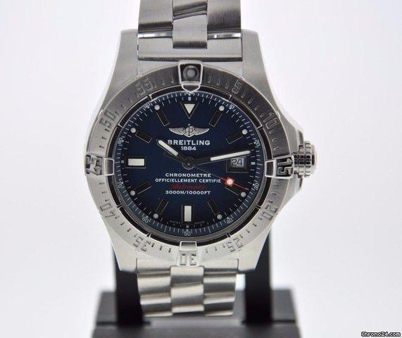 Breitling AVENGER SEAWOLF 2 YEAR FELDMAR WATCH COMPANY WARRANTY BOX PAPERS Price On Request