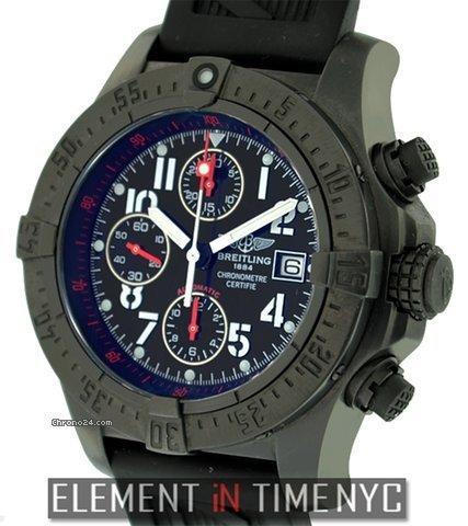 Breitling Avenger Skyland Black Steel Chronograph LTD Ref. M13380 Price On Request