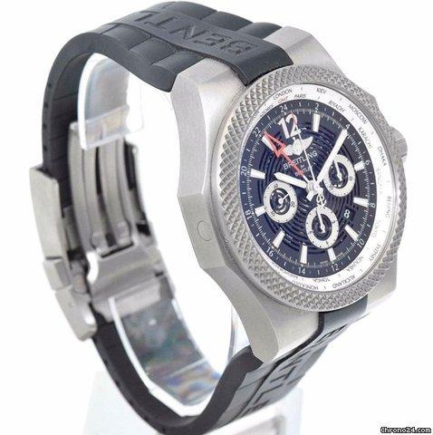 Breitling Bentley GMT Light Body B04 - Black Royal