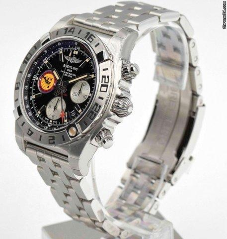 Breitling Chronomat 44 GMT - AB04203JBD29377A - New Patrouille Suisse 50th