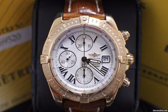 Breitling Chronomat Evolution 18K Rose Gold