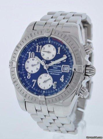 Breitling CHRONOMAT EVOLUTION SERVICED 2 YEAR FELDMAR WATCH COMPANY WARRANTY Price On Request