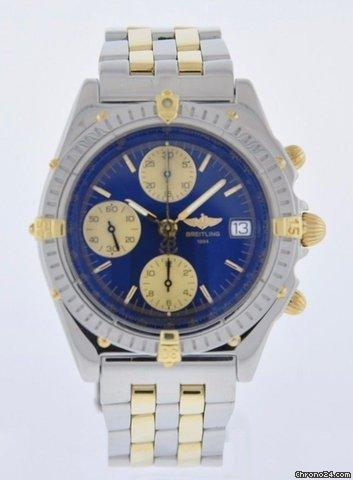 Breitling CHRONOMAT STEEL  18K GOLD SERVICED 2 YR FELDMAR WATCH CO. WARRANTY Price On Request