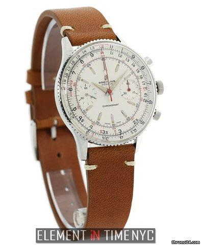 Breitling Chronomat Steel 37mm Silver Dial Venus Caliber 175 Vintage 1960s Ref. 808 Price On Request