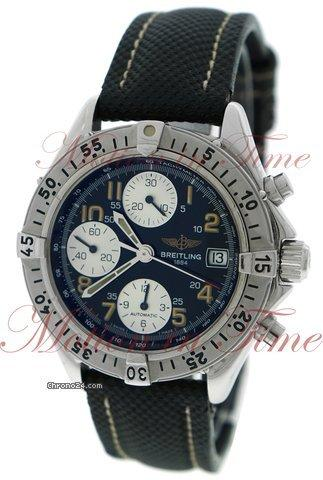 Breitling Colt Chronograph Automatic, Black Dial - Stainless Steel on Strap
