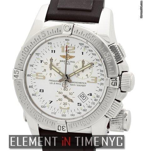 Breitling Emergency Mission Chronograph Stainless Steel 45mm SuperQuartz Ref. A73321 Price On Request