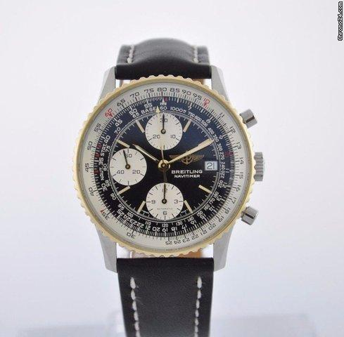 Breitling NAVITIMER 18K  STEEL - NEW BAND B13019 BOX - 2 YEAR FELDMAR WARRANTY Price On Request