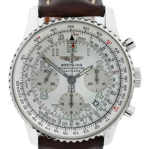 Breitling Navitimer A23322 Stainless Steel Watch on
