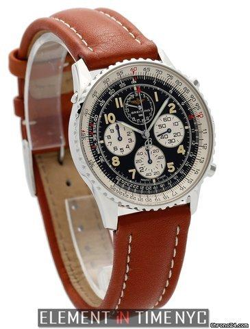 Breitling Navitimer Airborne Stainless Steel Black Dial 38mm Ref. A33030 Price On Request