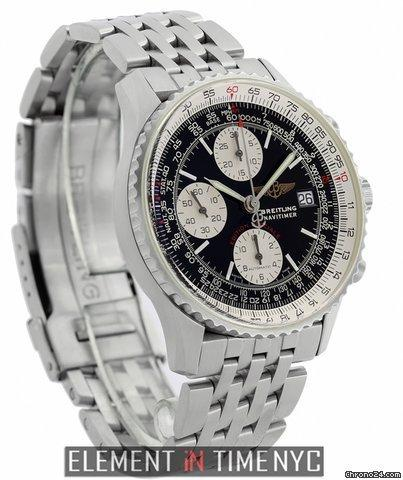 Breitling Navitimer Breitling Fighters Chronograph Steel 42mm Black Dial 2003 Ref. A13330 Price On Request