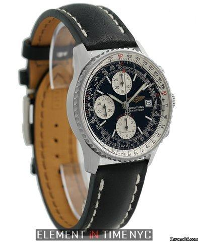 Breitling Navitimer Fighters Chronograph Steel 42mm Black Dial 2001 Ref. A13330 Price On Request