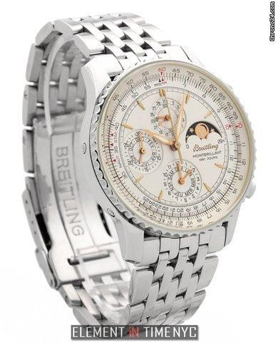 Breitling Navitimer Montbrillant 1461 Jours Stainless Steel 42mm Ref. A19030 Price On Request
