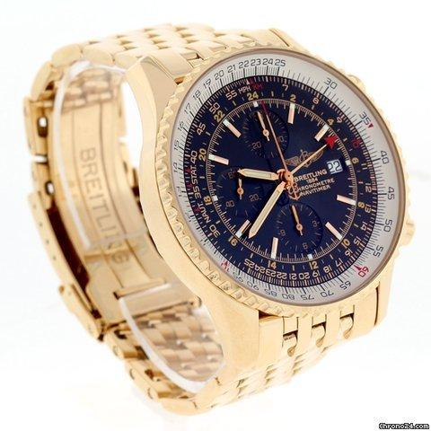 Breitling Navitimer World Rose Gold Special Edition 46MM Watch H24322