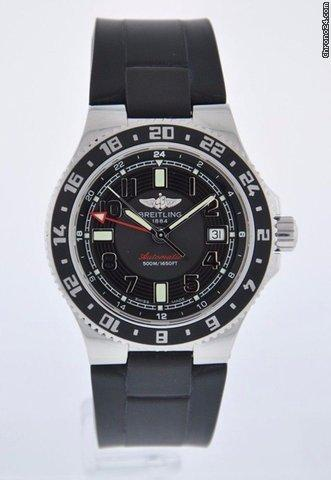 Breitling SUPEROCEAN GMT - SERVICED 2 YEAR FELDMAR WATCH COMPANY WARRANTY Price On Request