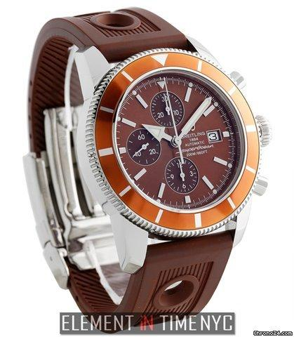 Breitling Superocean Heritage 46 Chronograph Brown Special Edition Ref. A13320 Price On Request