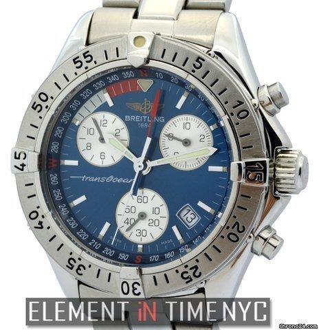 Breitling Transocean Colt Chronograph Stainless Steel 42mm Ref. A53040 Price On Request