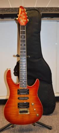 brian moore im 6 string electric guitar w soft case great condition for sale in toms river. Black Bedroom Furniture Sets. Home Design Ideas
