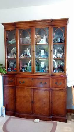 Brickwede China Cabinet Table For Sale In Marietta