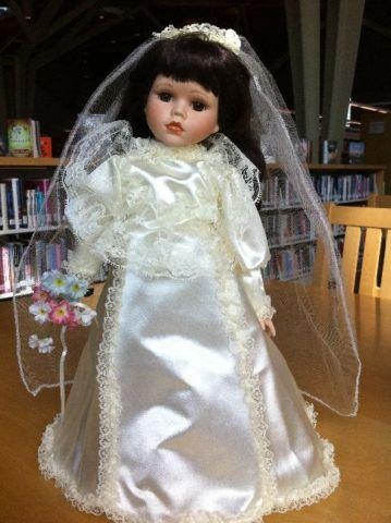 Bride Porcelain Doll