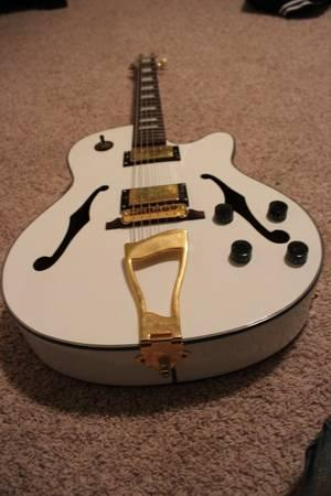 bright guitar hollow body glen burton for sale in doland south dakota classified. Black Bedroom Furniture Sets. Home Design Ideas