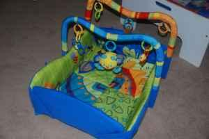 Bright Starts Baby Play Mat Activity Gym Downtown