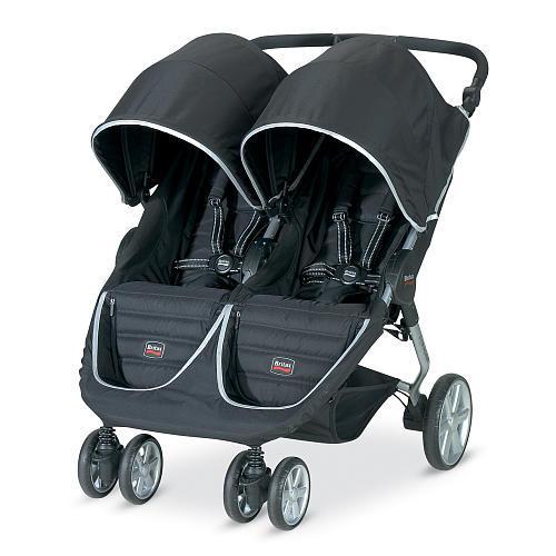 Britax B-Agile Double Stroller - Black