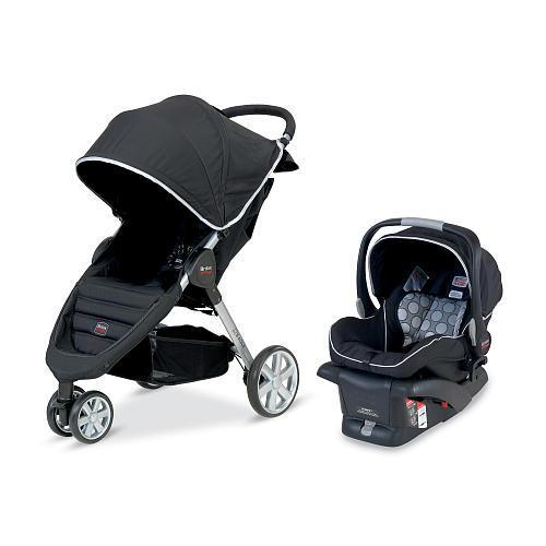 Britax B-Agile Travel System Stroller - Black