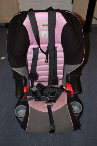 Britax Frontier 85, great shape, girls pinkblack car seat