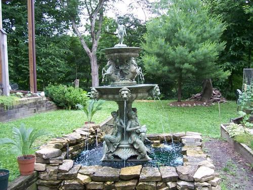 Bronze Water Fountain Outdoor Or Indoor 104