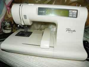 pacesetter pe 100 embroidery machine