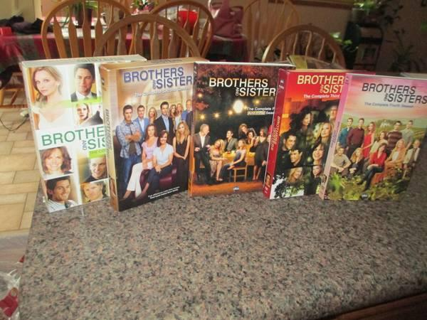 BROTHERS & SISTERS DVD'S - $40