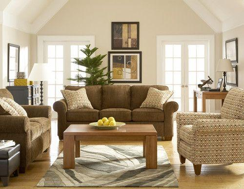 Brown Sofa U0026 Accent Chair   $499