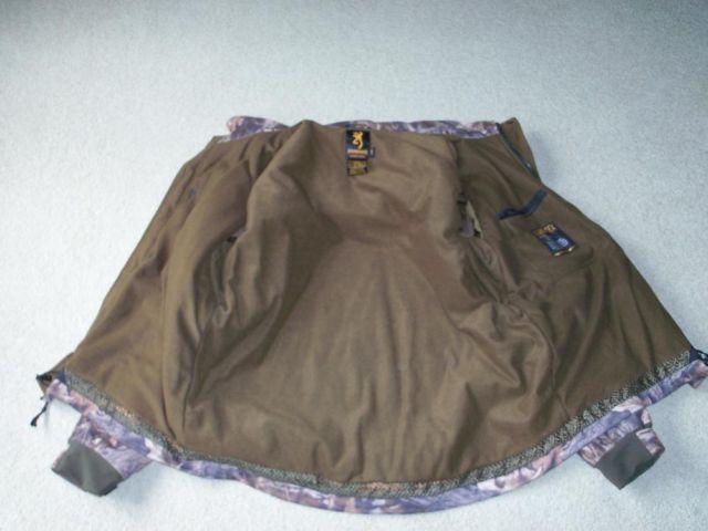 Browning Hydro fleece jacket  bibs