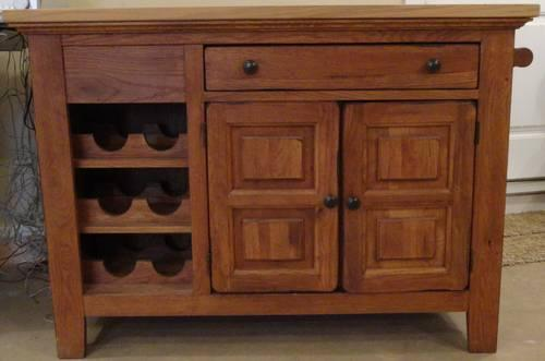 broyhill attic heirloom kitchen island for sale in latrobe