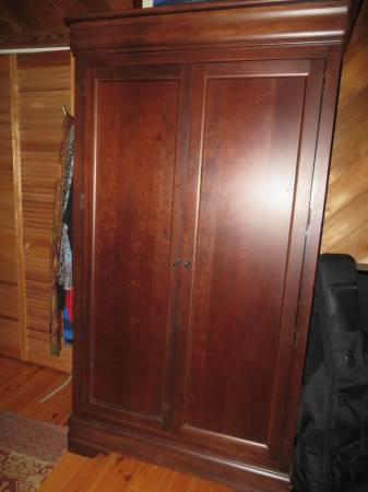 Broyhill Cherry Tv Entertainment Armoire For Sale In Boone North Carolina Classified Americanlisted Com